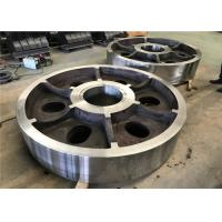 Vacuum Casting Process Alloy Steel Casting Parts Alloy Steel Wheels For Port Machine Manufactures