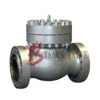 China WCB Swing Check Valve 12 Inch , Cast Steel Check Valve Bolted Cover RJ End on sale