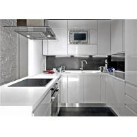 Modern Design MDF MDF Kitchen Cabinets Customized Style Furniture Environmentally Friendly Manufactures