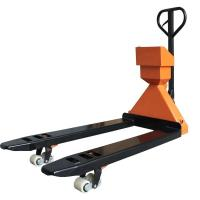 OIML III Class Electronic Digital Weighing Scale , 2T Nylon Wheel Pallet Truck Manufactures