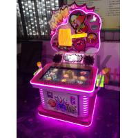 Quality Amusement Arcade Machine Coin Operated , Children Hit Hammer Game for sale