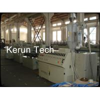 High Capacity PVC WPC Profile Extrusion Line High Precision For Wall Siding Panel Manufactures