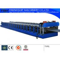 2mm Thickness Corrugated Sheet Roll Forming Equipment With Gearbox Driven Manufactures