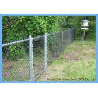 Buy cheap 50x50 Mm Diamond Low Carbon Galvanized Chain Link Fence Fabric 11.5 Gauge from wholesalers