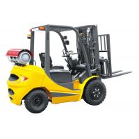 LPG 2.5 Ton Four Wheel Forklift 18km / H Travel Speed CE Certification Manufactures