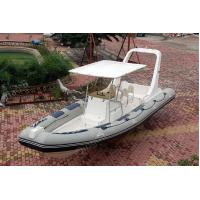 Buy cheap 830cm Inflatable Large Boat Navigator Bouyancy Tube Hypalon ORCA Fabric from wholesalers