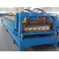 CE Roof Panel Roll Forming Machinery 18 Stations 5 Tons De - Coiler Single Chains Manufactures