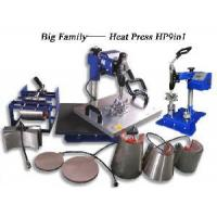 2012 Big Family Combo Heat Press Machine (HP9IN1) Manufactures