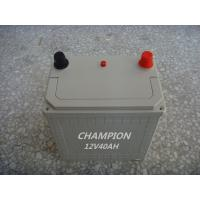 Quality Charging 12V 40 AH Dry Lead Acid Car Battery With Low Self - Discharge for sale