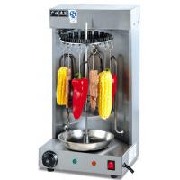 3KW Rotary Mutton String Roaster Electric Snack Bar Equipment 290*240*540mm Manufactures
