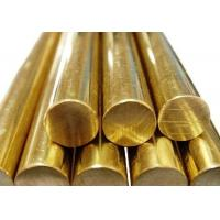 industrial Round Shaped Copper Products , 5-120mm Diameter Red Copper Bar Manufactures