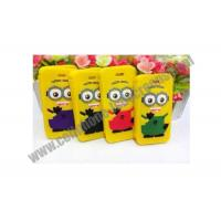 Yellow TPU Cell Phone Protective Cases For iPhone / Samsung With Cartoon Design Manufactures