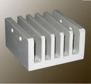 Steel Polished / Electrophoretic Aluminum Heatsink Extrusion Profiles With Fabricating Manufactures