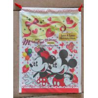 Lovely Printed Drawstring Plastic Bags With Disney Cartoons For Children Toy Manufactures