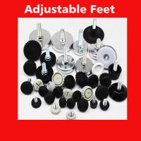 Manufacture offer furniture foot sofa cabinet closet adjustable feet for table