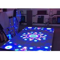 LED Dance Floor Panels 500*500MM SMD Interactive LED Dance Display P6.25 Manufactures