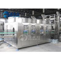 China 5L - 10L Rotary Type Plastic Bottle Filling Machine Water Washing Filling Capping Machine on sale