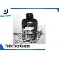 HD Wireless Law Enforcement Body Camera , Bluetooth Wearable Video Camera Police Manufactures