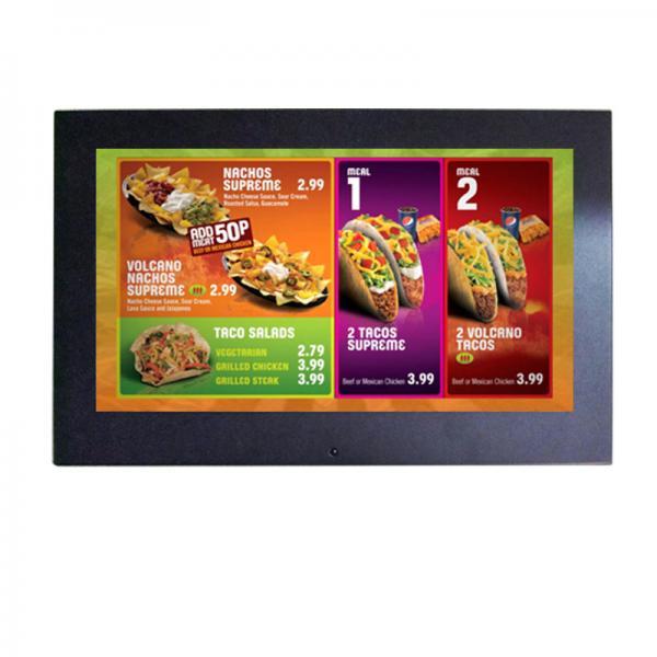Quality 350cd / M2 Brightness HD Digital Photo Frame Key Press Control for sale
