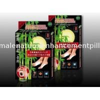 China Bamboo Vinegar Foot Detox Patches Herbal privet label OEM FDA CE 10 pieces/box on sale