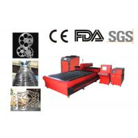 3000W Metal Fiber Laser Cutting Machine For Stainless Steel , Aluminum Manufactures