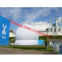 White inflatable projection dome tent Manufactures