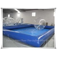 Customized Cool Inflatable Water Pools 10 x 8 meter for water toys, zorb ball use Manufactures