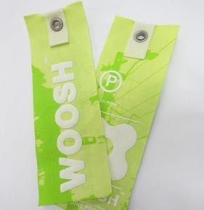 3D lenticular print tag 75lpi, 0.45mm  Flip effect lenticular hang tag for garment printed by OK3D Manufactures