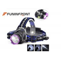 10W Rechargeable Outdoor LED Headlamp, 3 Light Modes 1000LM Bike Headlight Manufactures