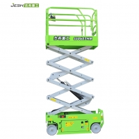 Hydraulic 6m self propelled scissor lift with 230kg capacity for indoor Manufactures