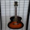 China handmade OEM J2001 sunburst acoustic guitar with EQ Manufactures