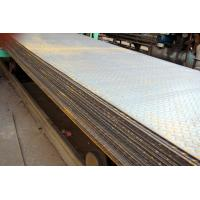 SS400, Q235B, S235JR Hot Rolled Steel Coils / Checkered Steel Plate, 2000mm -12000mm Long Manufactures