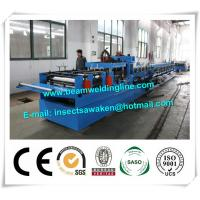 15kW Steel Structure C Purlin Roll Forming Machine to Make Steel Section Manufactures