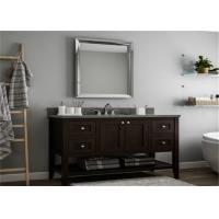 Solid Wood Prima Vanity DIY Bathroom Cabinet For Hotel Project , Guest Room Manufactures