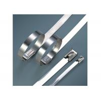 Stainless Steel Heavy Duty Cable Ties For Cable Wiring Acid / Alkali Resistant Manufactures
