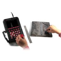Straight Beam Probe Ultrasonic Flaw Detector With Data Processing Software MFD550B Manufactures