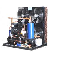 15HP Air Cooled Condensing Unit Semi Hermetic Advanced Technology 380V Voltage  480KG Manufactures