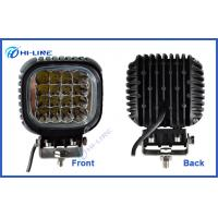 "Flood Spot Automotive LED Work Lights 48W 5.5"" CREE chip 6000K Aluminum Manufactures"