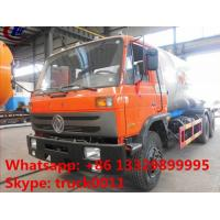 mobile lpg road tanker 10ton 6*4 dongfeng truck gas road tanker, 25m3 bulk road transported lpg gas tank for sale Manufactures