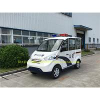 China White 48 Voltage Electric Powered Golf Carts , Four Wheel Electric Car With Doors on sale