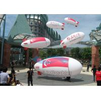 Waterproof Inflatable Advertising Blimp Helium Zeppelin For Event Showing Manufactures
