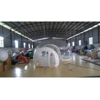 Inflatable Transparent Bubble Tent Belt Steel for Outdoor Camping Manufactures