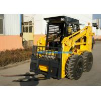 1700mm Steer Loader Attachment Hydraulic Grapple Bucket For Front End Loader Manufactures