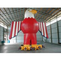 Customized red colour inflatable american eagle for advertising Manufactures