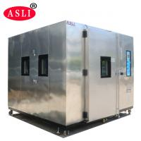 Programable Operation Standard Laboratory Walk-In Temperature Humidity Test Room SSR Control Manufactures