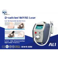 1600mj High Power Q Switched Nd Yag Laser Tattoo Removal Equipment / 1064 Nm 532nm Nd Yag Laser Manufactures