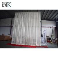 plumbing pipe wall rack ceremony backdrop event Romantic decoration ceremony backdrop ideas Manufactures