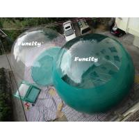 Fashionable Transparent PVC Two Rooms Inflatable Tent For Summer Camping Manufactures