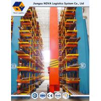 Corrosion Proof Cantilever Steel Rack , Cantilever Racking Systems Manufactures