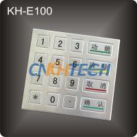 Stainless steel ATM Encrypting PIN Pad Manufactures
